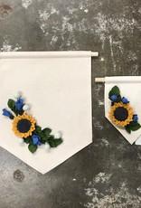 Thistlewhite Designs Sunflower Banner