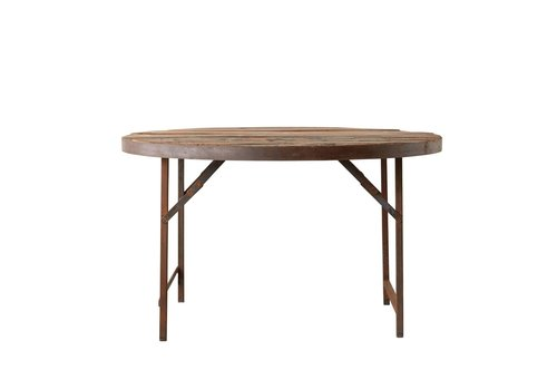 Creative Co-Op Found Wood/Metal Folding Tent Dining Table