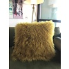 "Lamb Fur Pillow 20x20"" with insert"