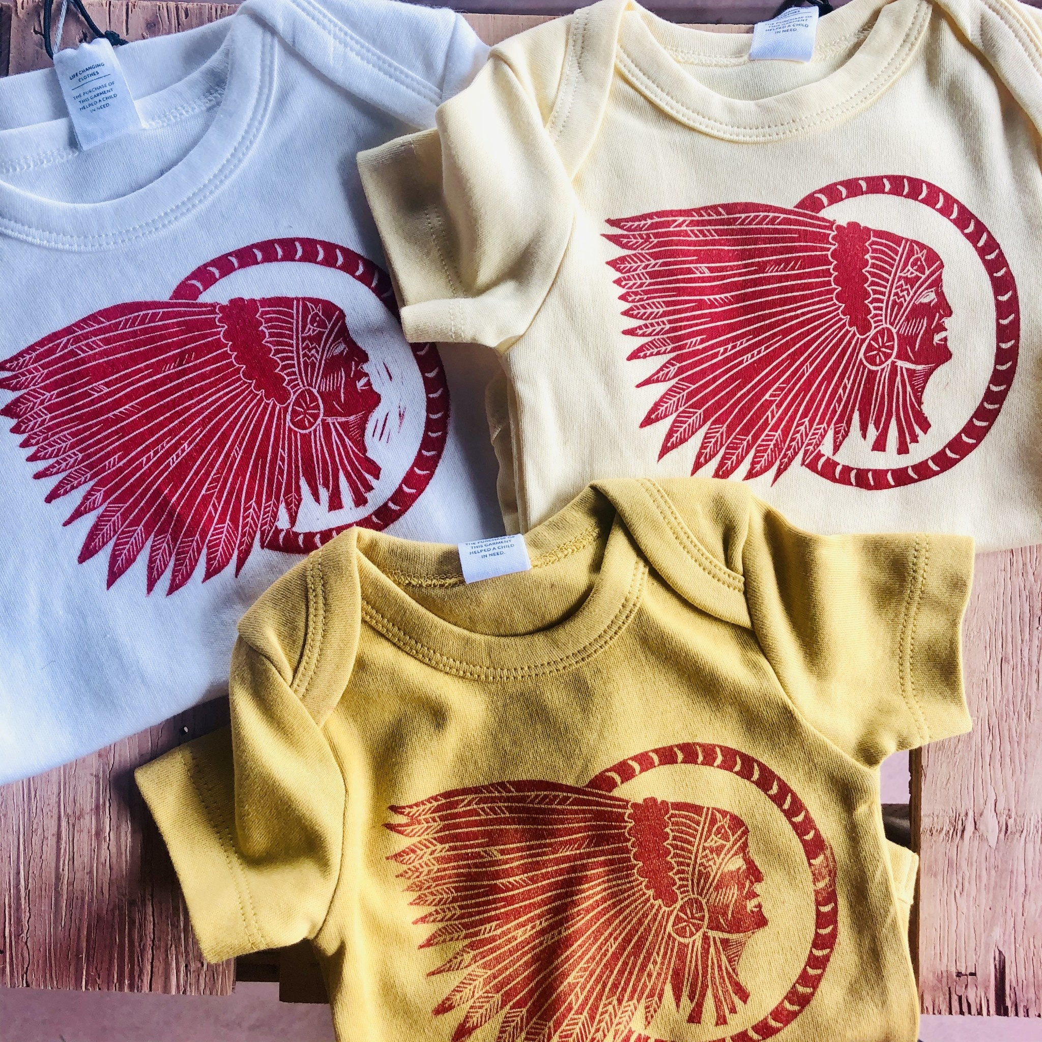 Vickery Ottaway Design Vickery Ottaway Design Short Sleeve Onesie