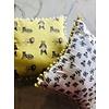 Lavender & Clover Illustrated Pillows