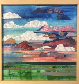 Emily Miller Yamanaka Sunset Horizon Framed 12x12