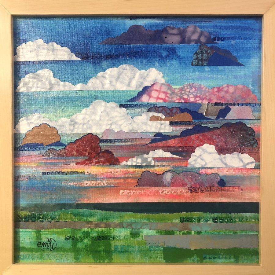 Sunset Horizon Framed 12x12