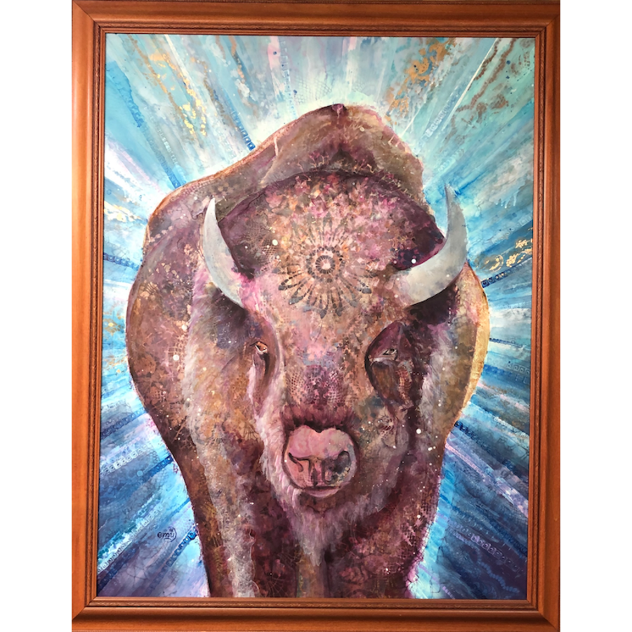 Head On Framed 31x40