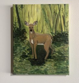 Theresa Wolff Art Whitetail - into the new wilderness