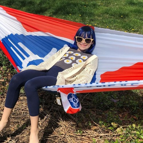 The Workroom Grand Trunk ICT Flag Hammock