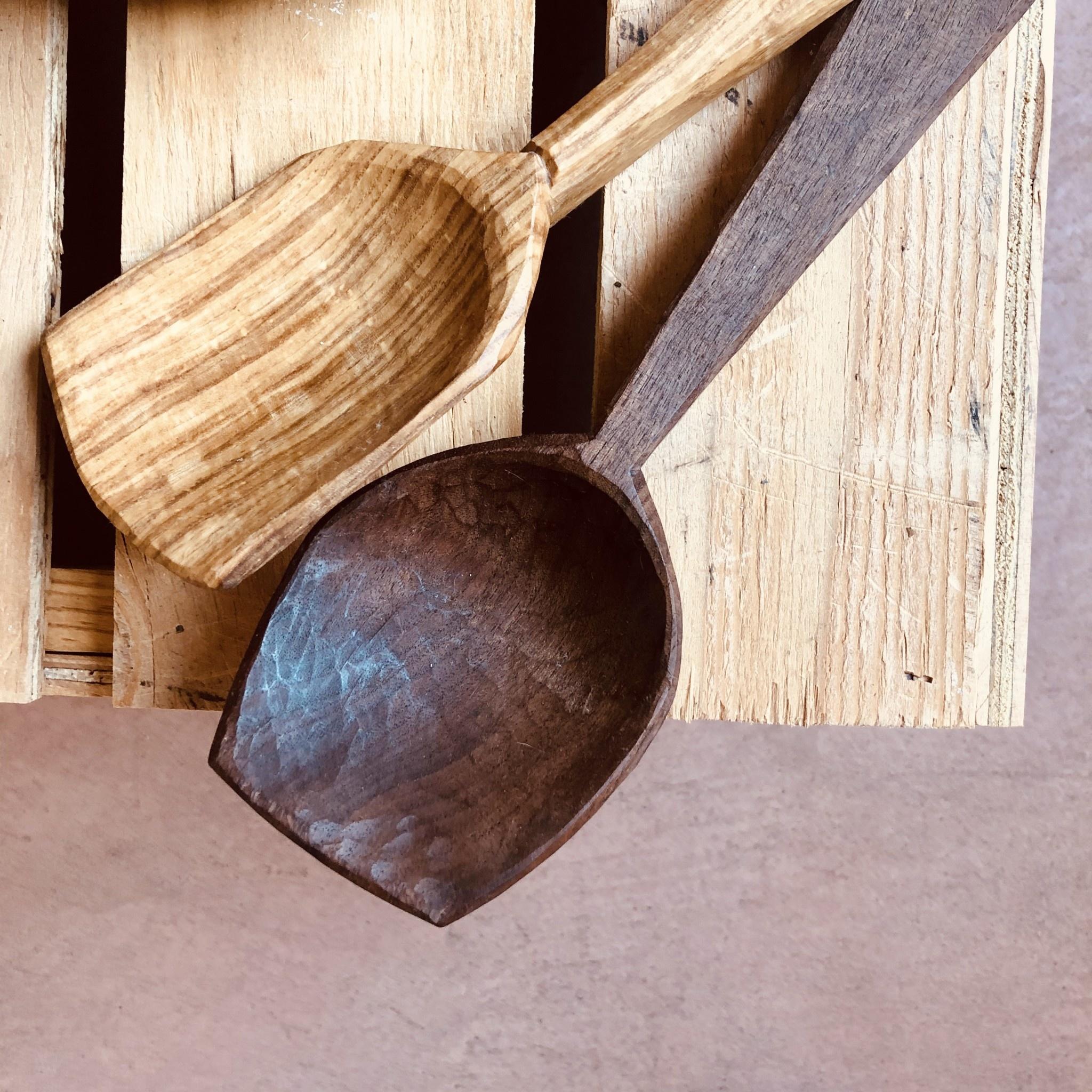 Three Acorns Three Acorns Walnut Cooking/Serving Spoon
