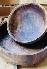 Three Acorns Three Acorns Large Walnut Bowl