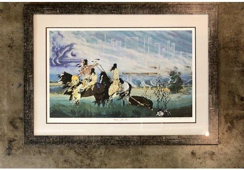 "Harris & Co. Frame Shop Blackbear Bosin ""Wichita My Son"""