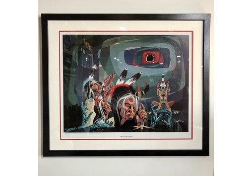 "Harris & Co. Frame Shop Blackbear Bosin ""The Day The Sun Died"""