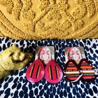 Aida Stenholm Handmade Earrings (large)