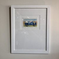 Kitten Watercolor Framed Prints