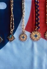 Heartlandia by Gardner Design Sunflower Necklace