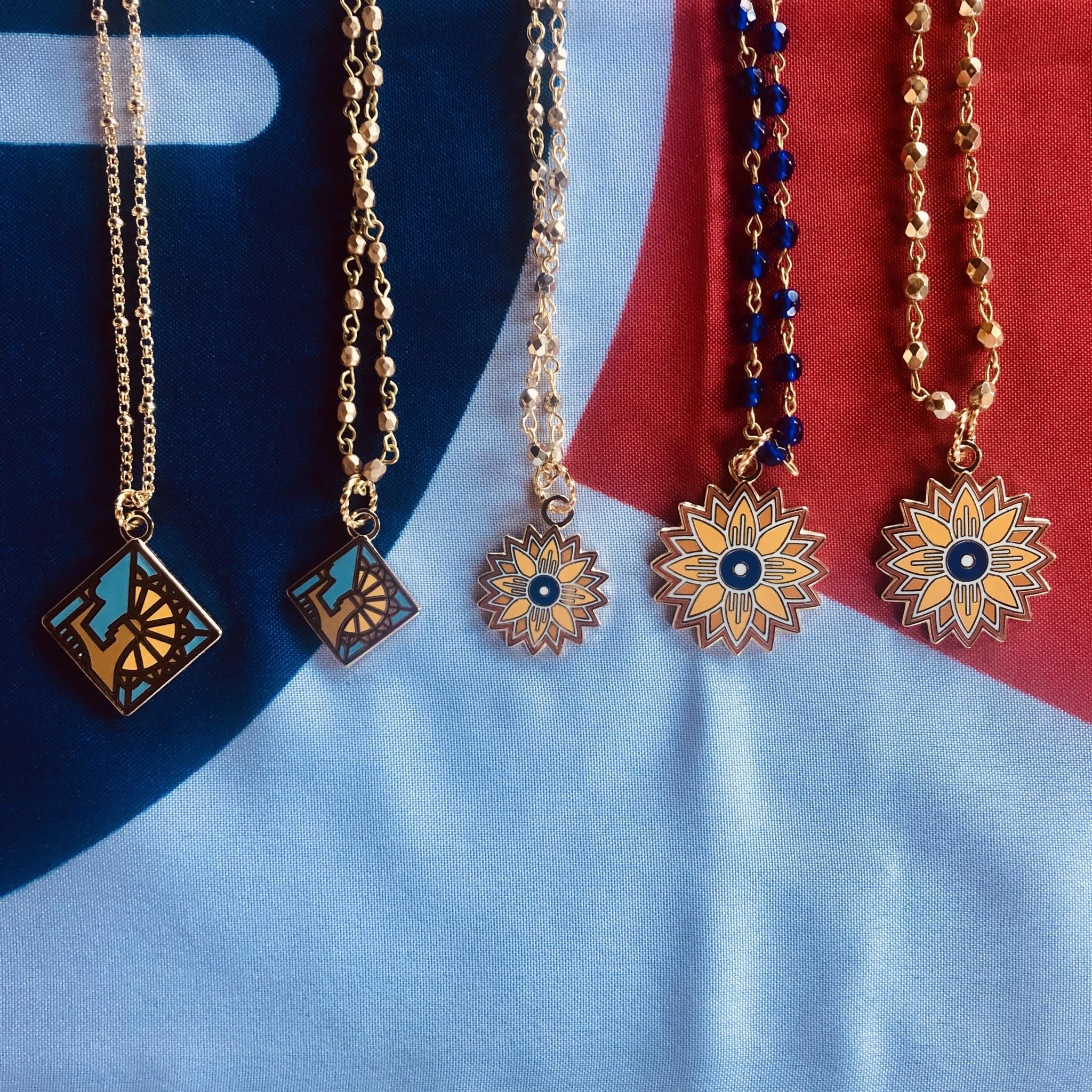 Heartlandia by Gardner Design Keeper Necklace