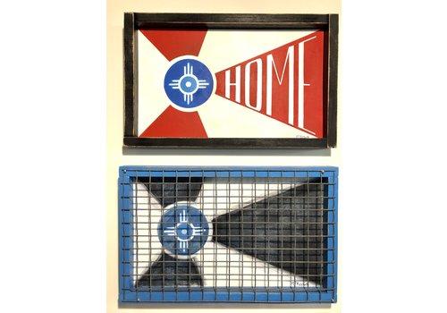 Austin McKeown Wichita Flag Wall art #2