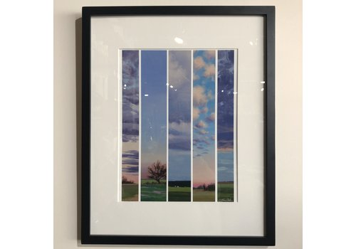 "Catherine Freshley Art Catherine Freshley Framed ""Test Strips"""