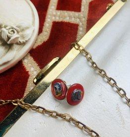 Lindsey Owen Custom Jewelry Lindsey Owen Glass Studs