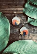 Sandcastle Jewelry Sandcastle Glass Earring