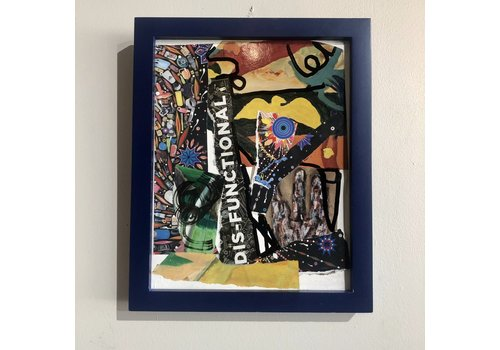 Barbara Niewald Collage Framed