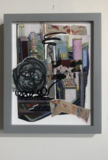 Barbara Niewald Collage Framed