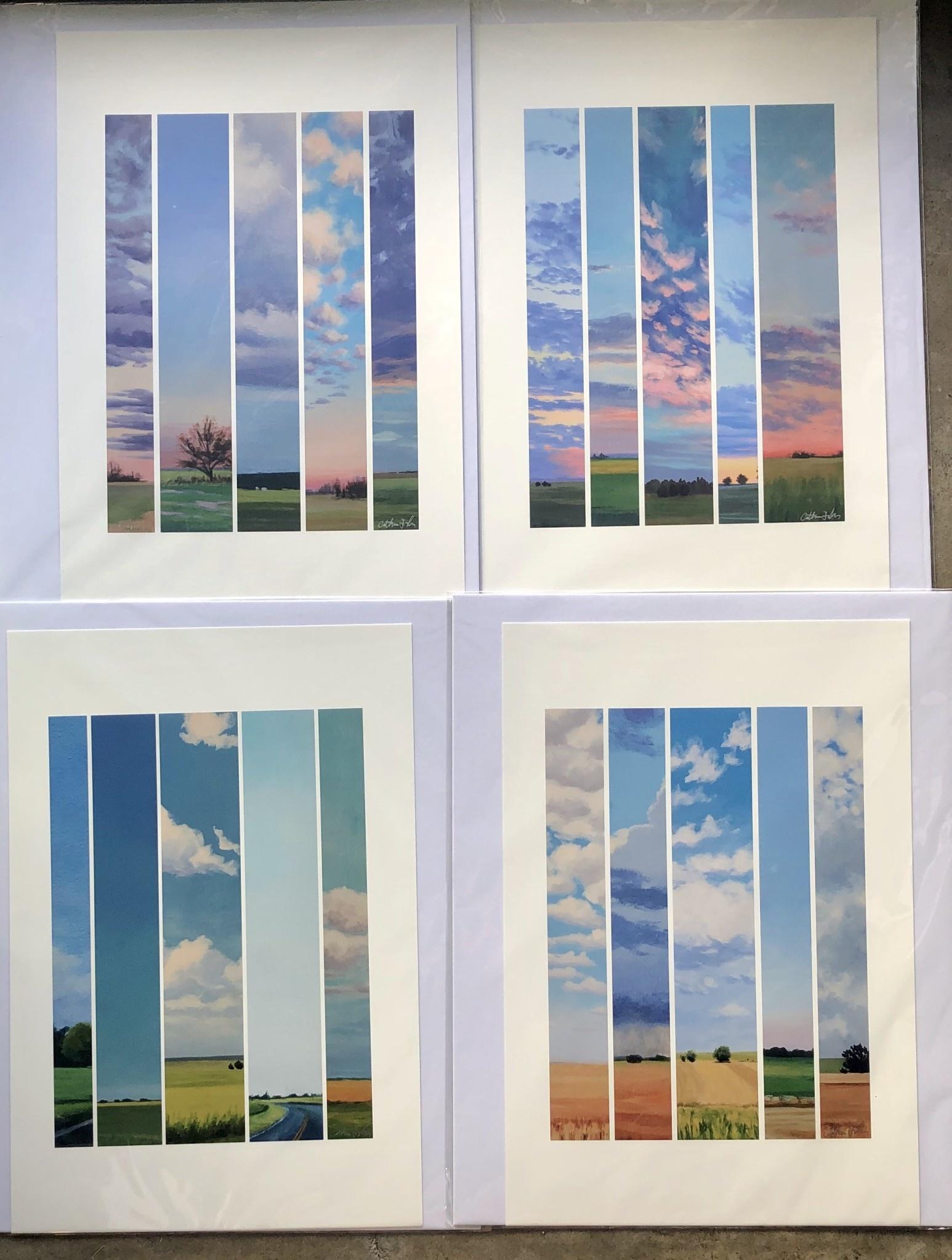 """Catherine Freshley Art Catherine Freshley """"Test Strips"""" Print"""