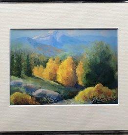 "Sharon Edwards Art ""Del Norte Peak"" 5x7 Matted Print"