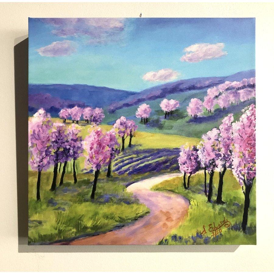 """Orchard Blossom Trail"" 12""x12"""