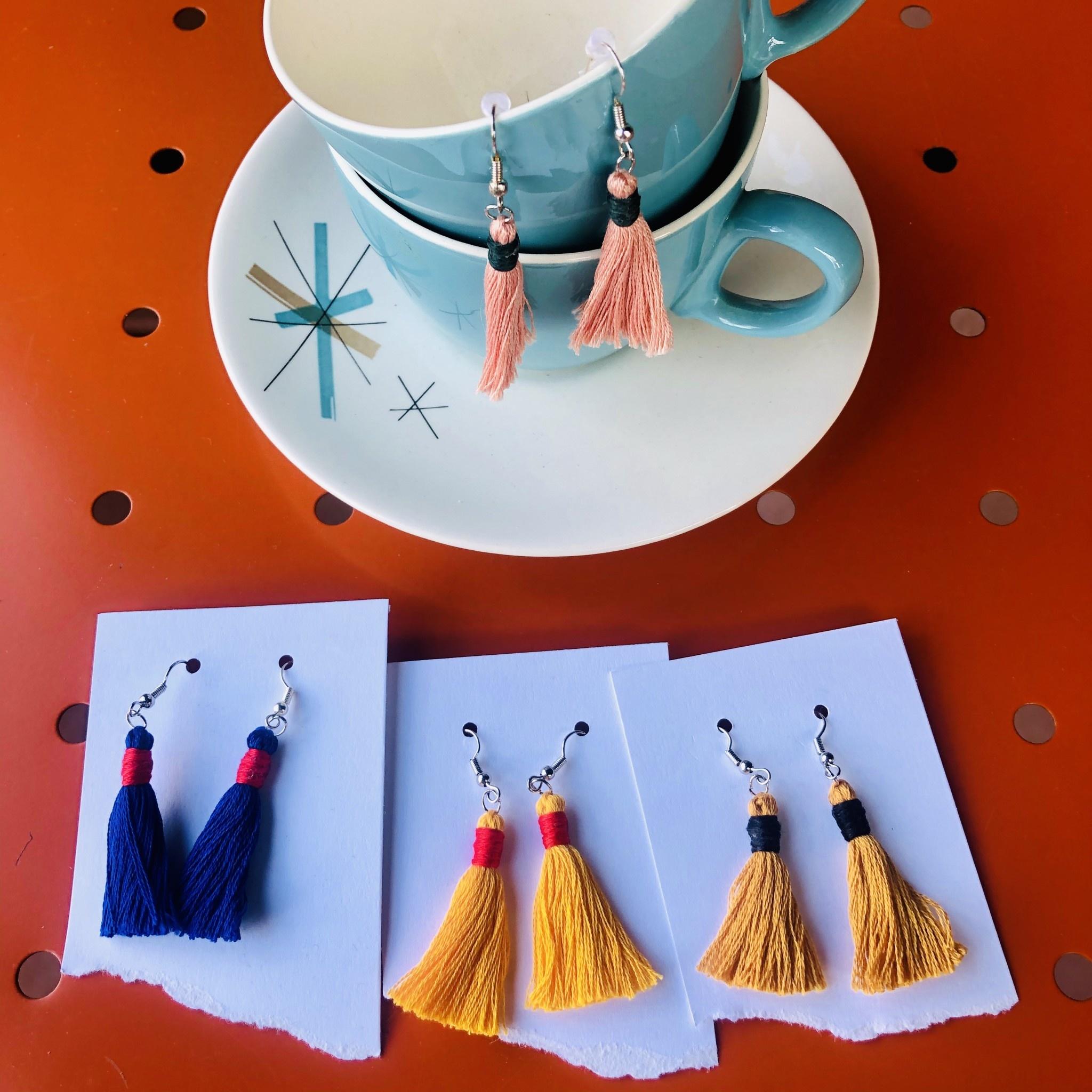 Thistlewhite Designs Thistlewhite Tassel Earrings