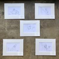 Scribbles Print