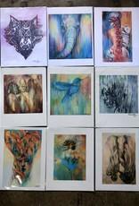 Mika Holtzinger Art Signed Fine Art Print