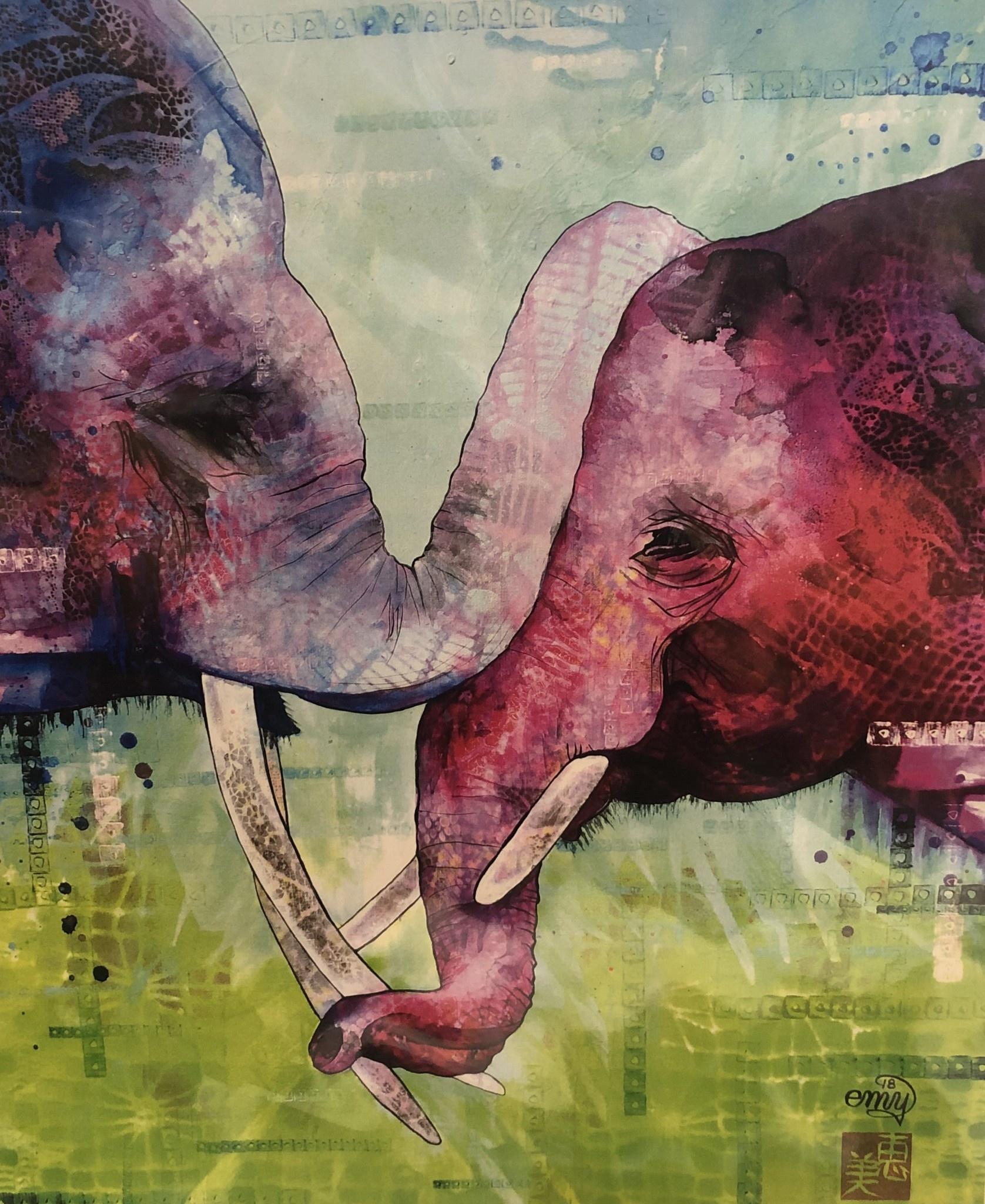 "Emily Miller Yamanaka Emily Miller ""Closeness"" 11x14 print"