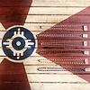 """Lamzy Divey ICT flag bronze necklace 18"""""""