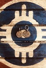 Lamzy Divey Bronze Hogan Earrings