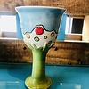 Tina Thomas  Stemed Wine cup