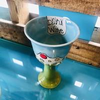Tina Thomas  Stemed Wine cup