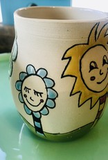 Tina Thomas TIna Thomas Vase with Flower Faces