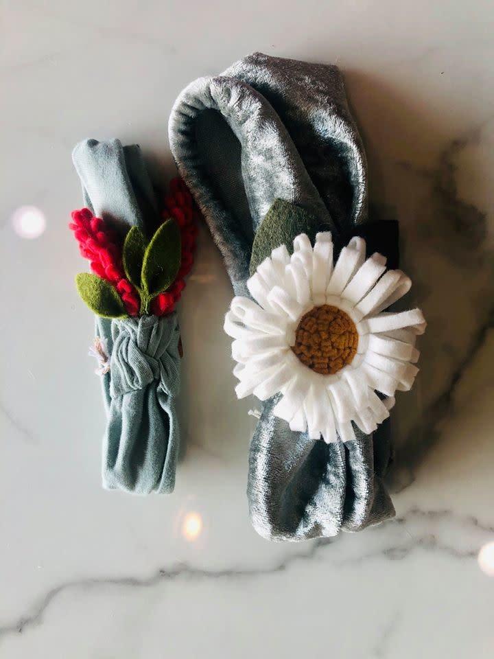 Thistlewhite Designs Thistlewhite Floral Headband