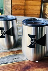 The Workroom 12 oz Stainless Wichita Flag Wine Tumbler