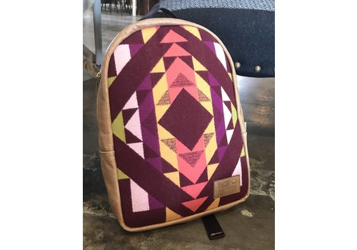 Vache Brothers Vache Brothers Pendleton Leather Backpack
