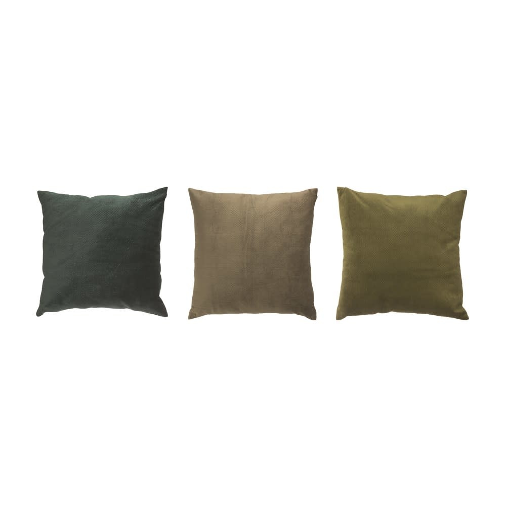 "Creativeco-op 24"" Square Velvet Pillow"