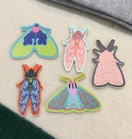 Delilah Reed Bug Sticker
