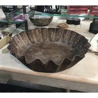 Antique Metal Bowl
