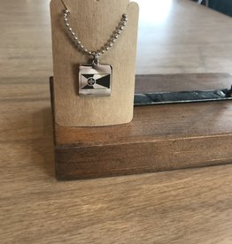 ICTMakers Stainless Flag Necklace