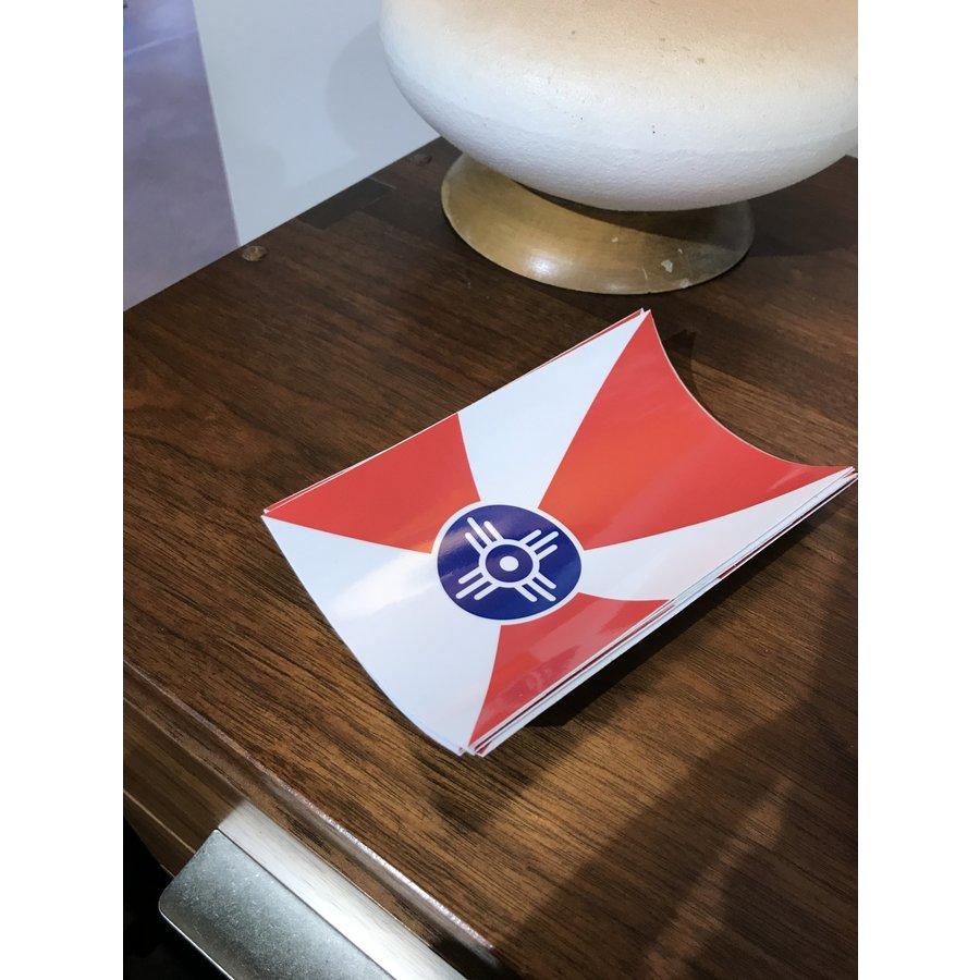Wichita Flag True Color Decal