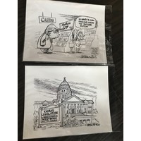 Original Crowson Pen & Ink