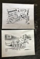 Richard Crowson Original Crowson Pen & Ink