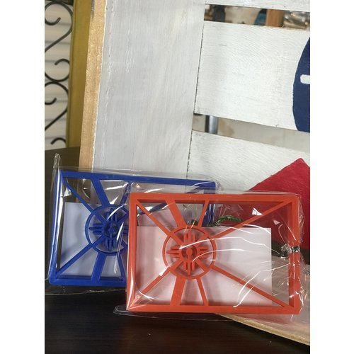 """Creative Old Souls ICT Flag Cookie Cutter 3/8"""""""