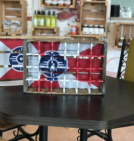 Creative Old Souls ICT Soda Crate Shelf- Vintage Exterior