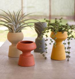 Kalalou Shaped Clay Vase
