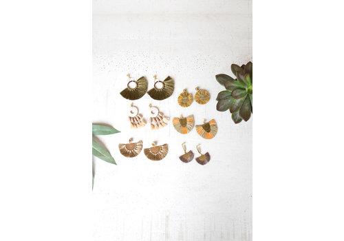 Kalalou Brush Earrings